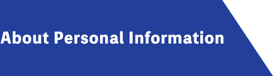About Personal Information